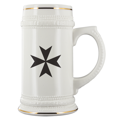 Maltese Cross Beer Stein