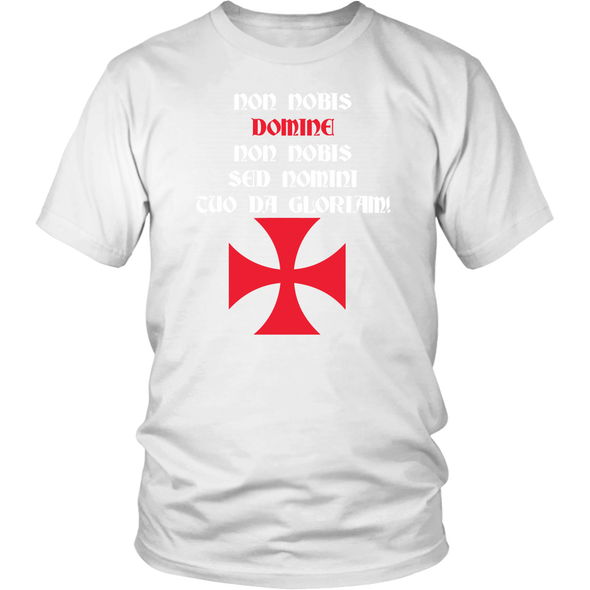 Templar Cross - Templar Motto District Unisex Shirt