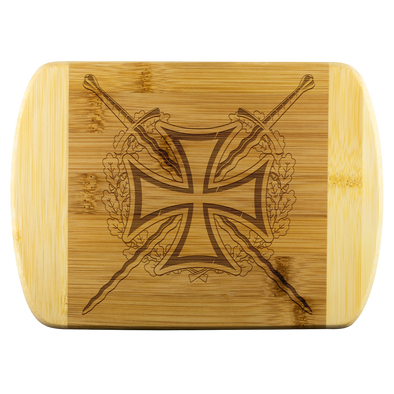 Templar Cross Wood Cutting Board