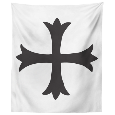Templar Cross Wall Tapestry