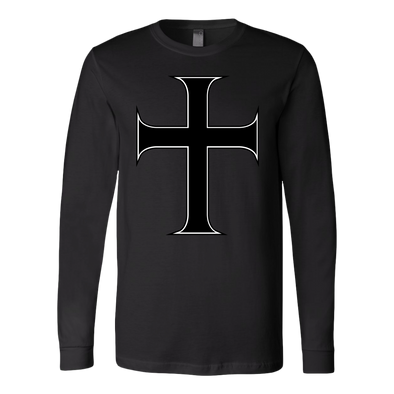 Cross of Saint John Canvas Long Sleeve Shirt