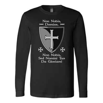Non Nobis Domine Long Sleeve Shirt