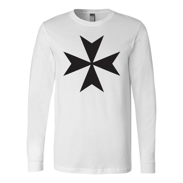 Maltelse Cross Canvas Long Sleeve Shirt