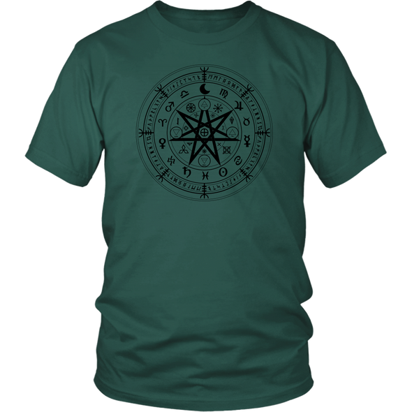 Wiccan Symbol of Protection District Unisex Shirt