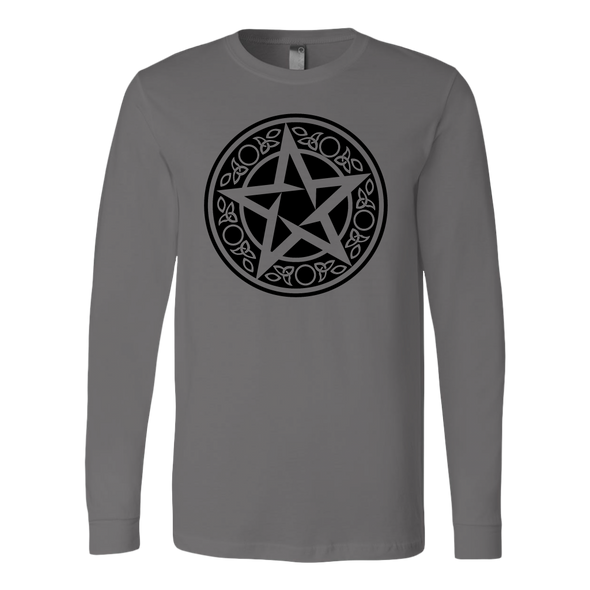 Wiccan Talisman Canvas Long Sleeve Shirt