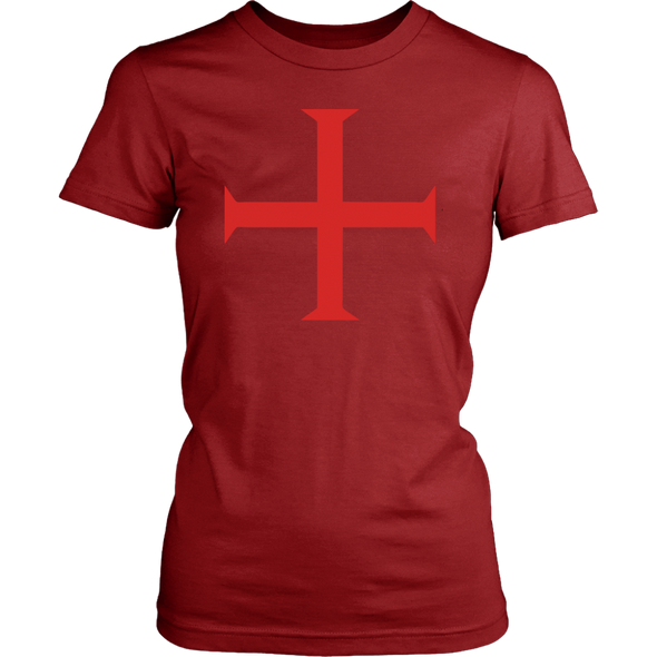Red Order of Christ Cross District Womens Shirt