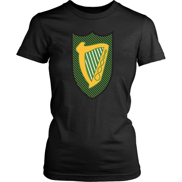 Irish Coat of Arms of Leinster Womens Shirt
