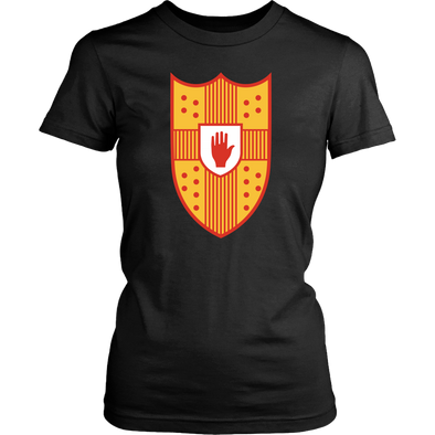 Irish Coat of Arms of Ulster Womens T-Shirt