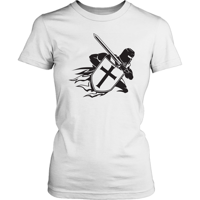 Crusader Black District Womens Shirt