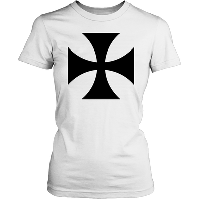 Black Templar Cross District Womens Shirt