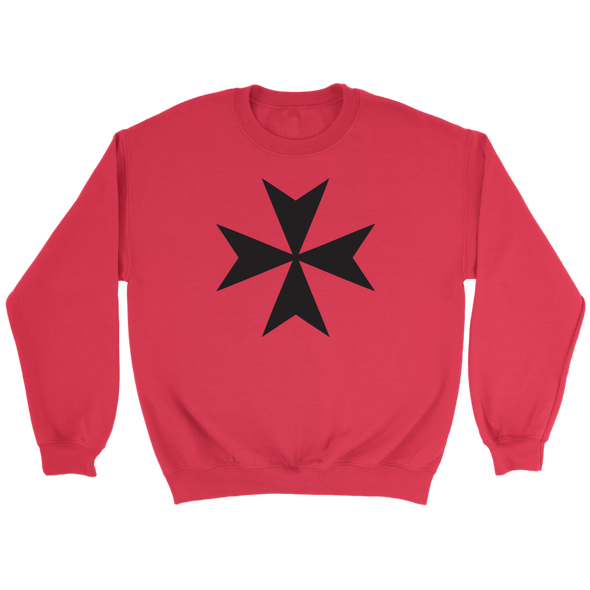 Maltese Cross Crewneck Sweatshirt