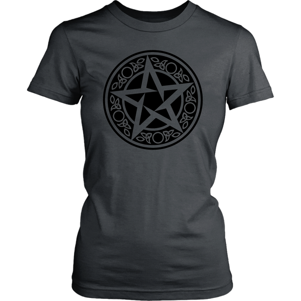 Wiccan Talisman District Womens Shirt