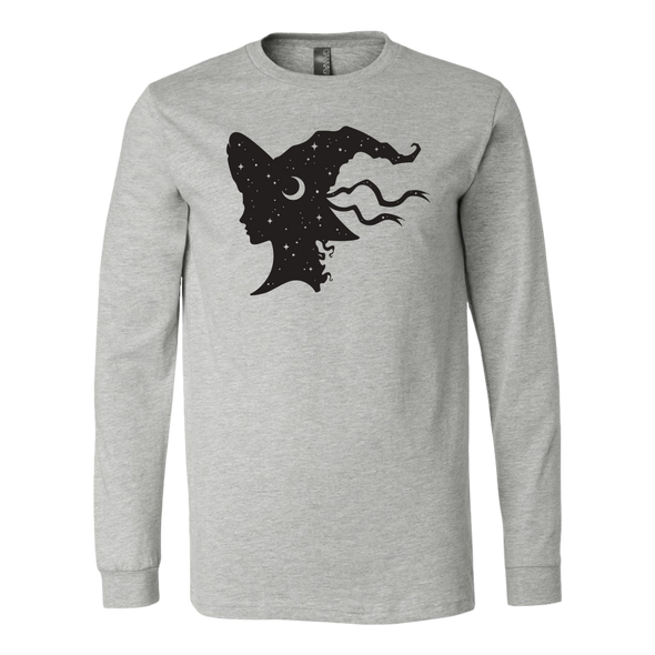 Witch Hat Canvas Long Sleeve Shirt