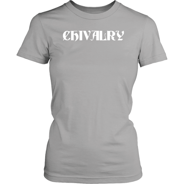 White Chivalry District Womens Shirt