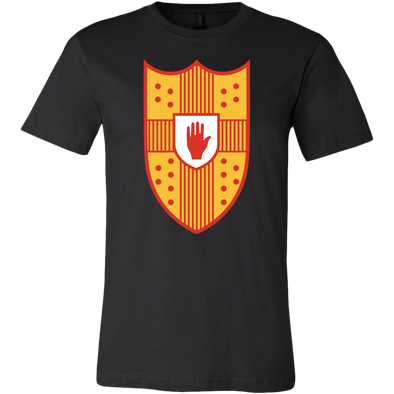 Irish Coat of Arms of Ulster Mens T-Shirt
