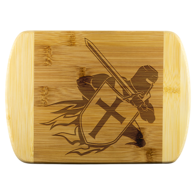 Crusader Warrior Wood Cutting Board