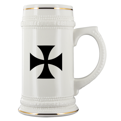 Templar Cross Beer Stein