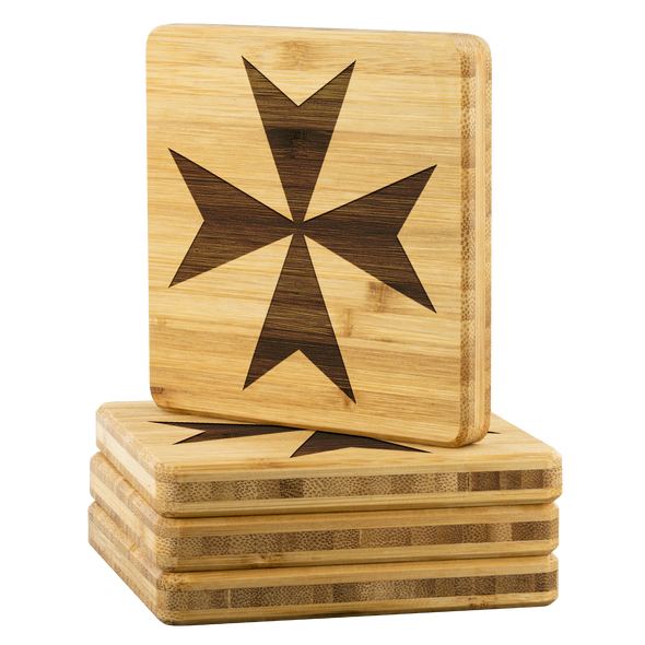 Maltese Cross Coasters