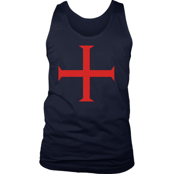 Red Order of Christ Cross District Mens Tank