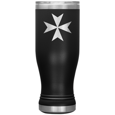 Maltese Cross Boho 20oz Tumbler