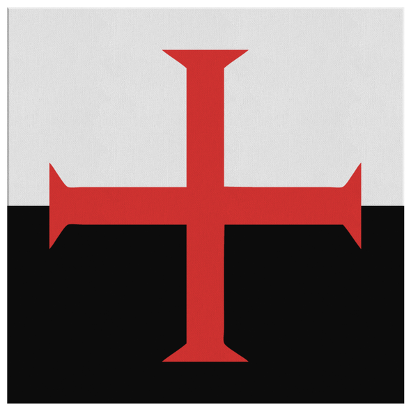 Templar Knight Canvas