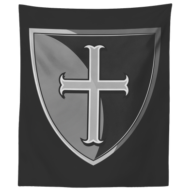 Crusader Shield Wall Tapestry
