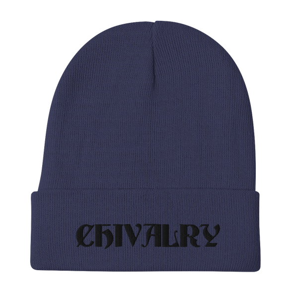 Chivalry Embroidered Beanie