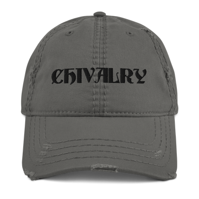 Chivalry Distressed Dad Hat