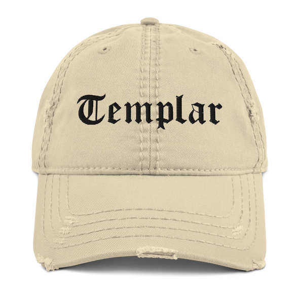 Templar Distressed Dad Hat