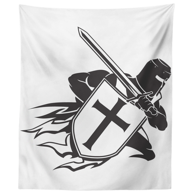 Crusader Wall Tapestry