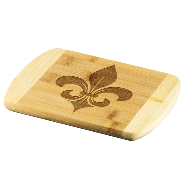 Fleur de Lis Wood Cutting Board