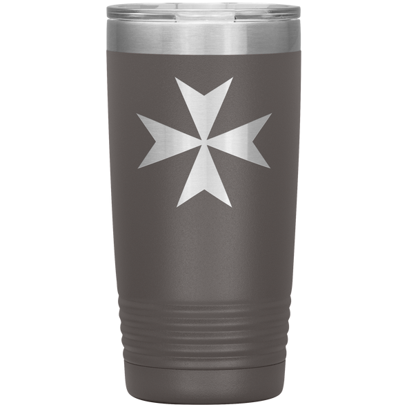 Maltese Cross 20 Ounce Vacuum Tumbler