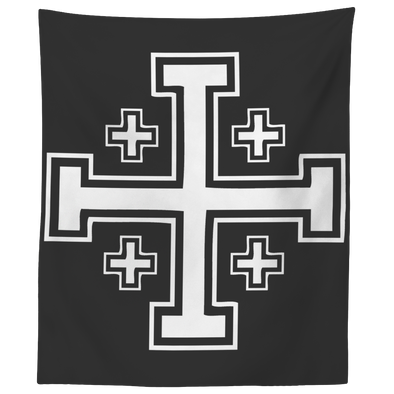 Jerusalem Cross Wall Tapestry