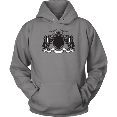 Knight Spear Battle Unisex Hoodie