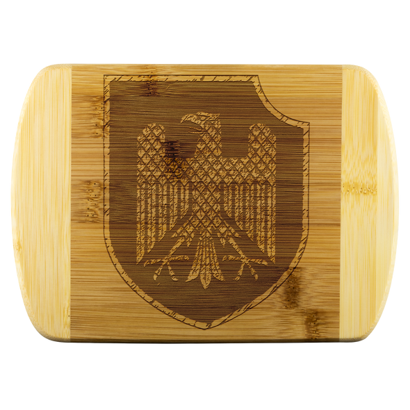 Knight heraldic Wood Cutting Board