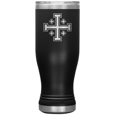 Jerusalem Cross Boho 20oz Tumbler