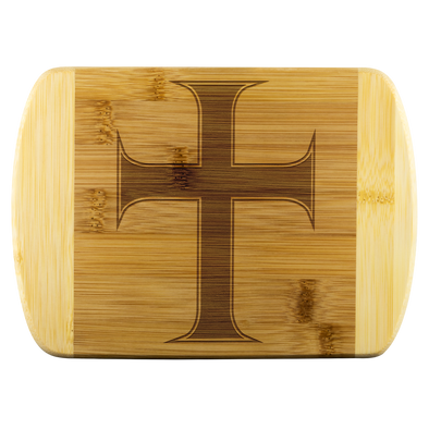 Cross of Saint John Wood Cutting Board