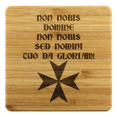 Non Nobis Domine! + Maltese Cross Coasters