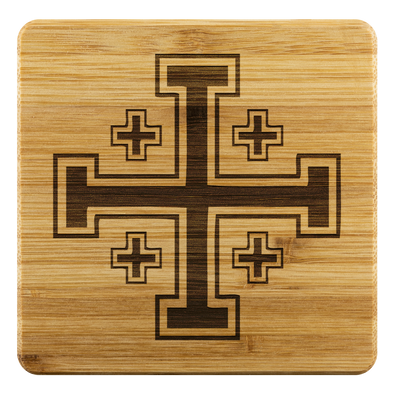 Jerusalem Cross Coasters