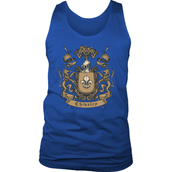 Chivalry Knight District Mens Tank
