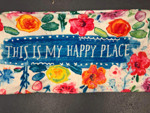 This Happy Place Body Pillow Cover
