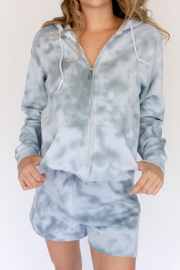 Zip Up - Grey