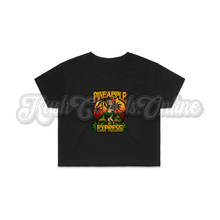 Load image into Gallery viewer, Pineapple Express Crop Top Tee