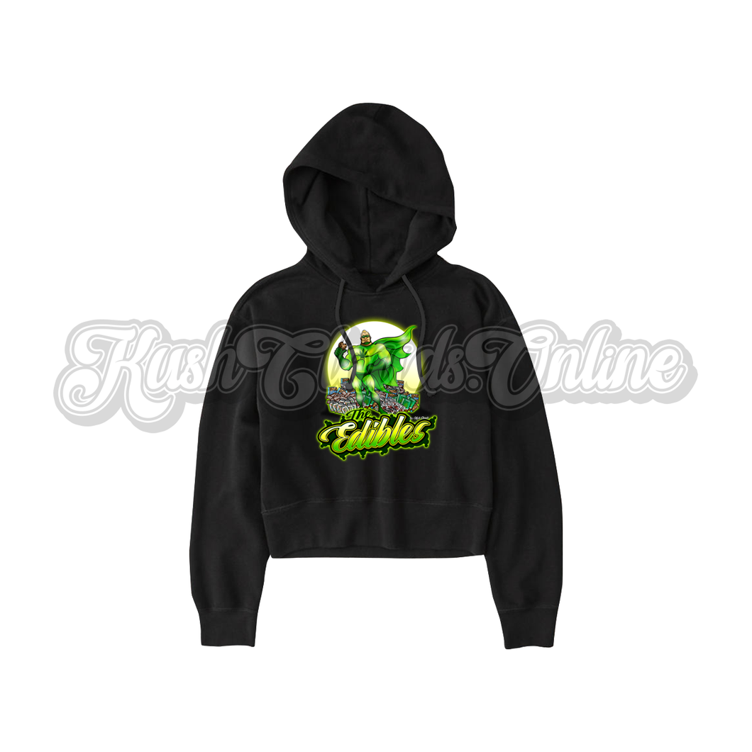 The Edibles Crop Top Hoodie