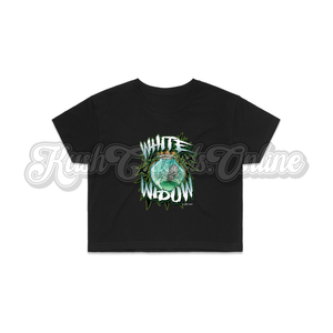 White Widow Crop Top Tee