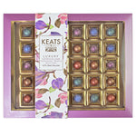 Keats Dark Chocolate Shimmering Truffles, 30pcs Gift Box, 195g - Keats Chocolatier London