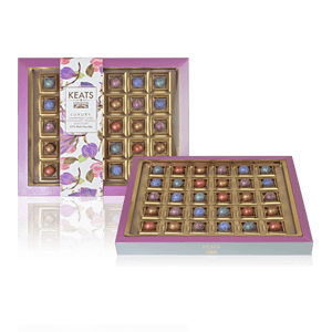 Load image into Gallery viewer, Dark Chocolate Shimmering Truffles, 30pcs Gift Box - Keats Chocolatier