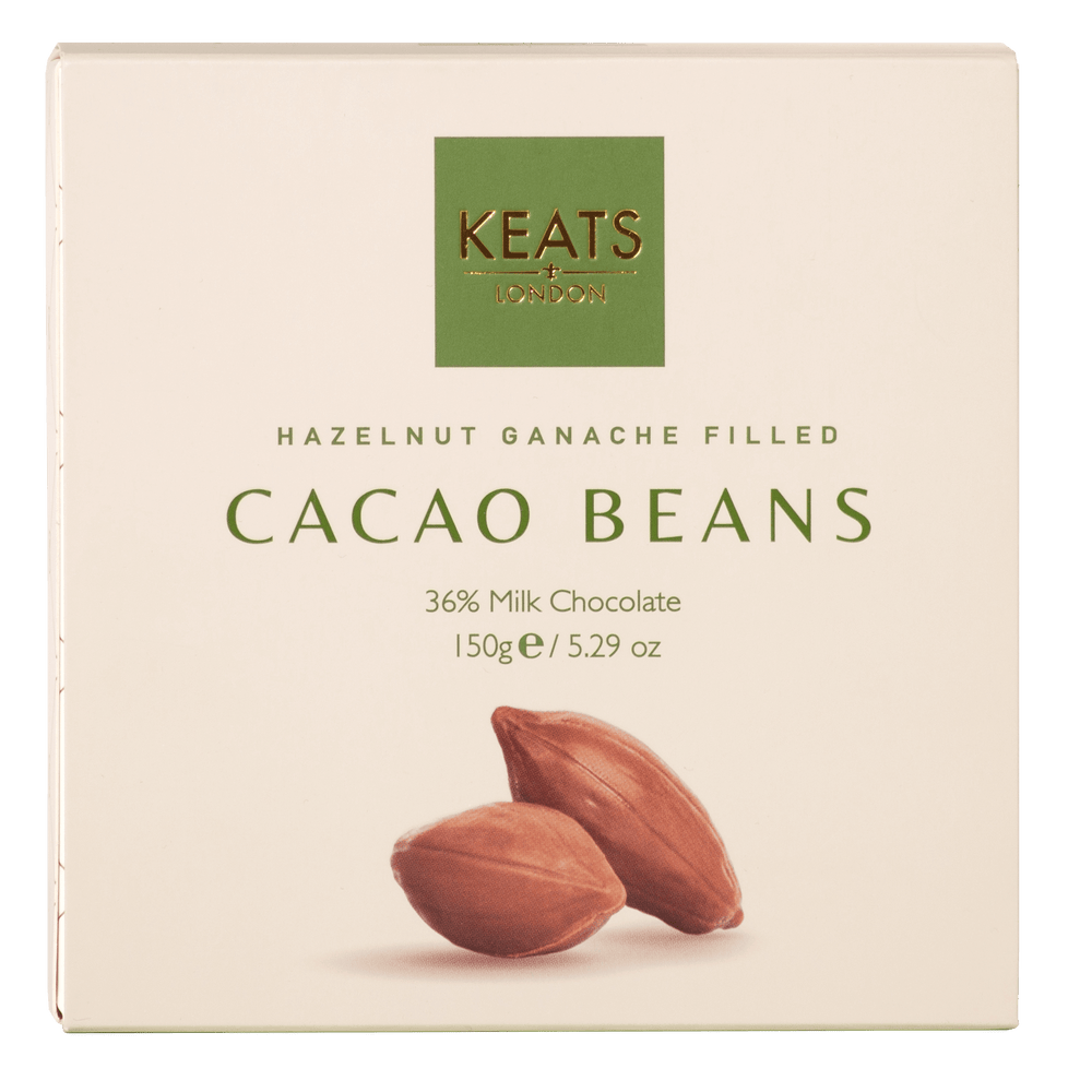 Load image into Gallery viewer, Hazelnut Ganache Filled Cocoa Beans - Keats Chocolatier