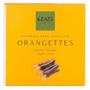 Load image into Gallery viewer, Keats Dark Chocolate Orangettes 150g - Keats Chocolatier