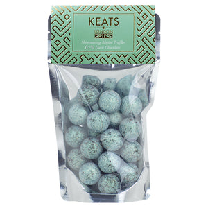 Load image into Gallery viewer, Dark Chocolate Shimmering Truffles Mojito Flavour - Keats Chocolatier